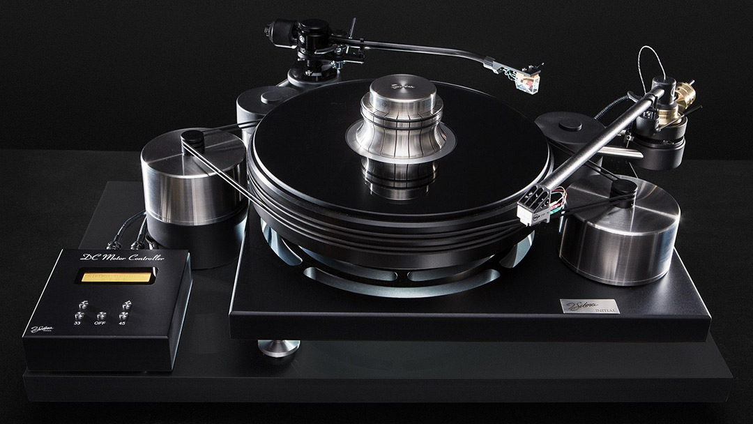 J. Sikora Initial Max black turntable USA authorized distributor